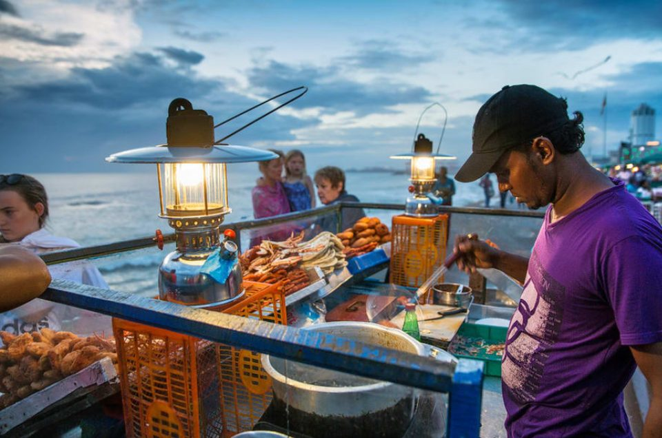 Street Food in Galle Face